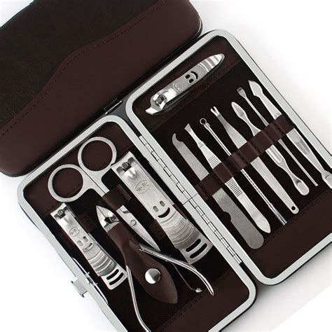 Nail Set by Foolzy 13 In 1 Manicure Pedicure Compact Set Kit Buy