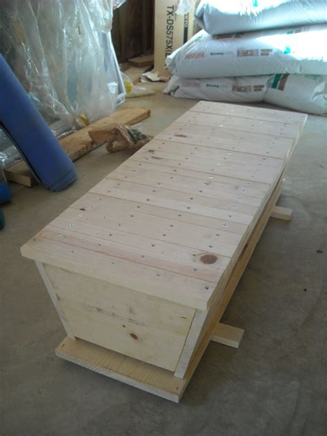 Tanzanian Top Bar Hive by Top Bar Beehive Plans Models Picture