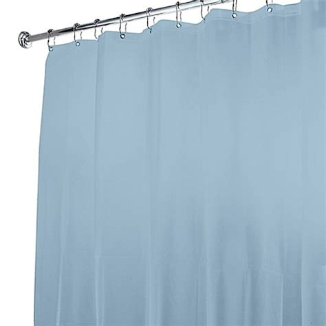 light blue shower curtain buy 5 gauge shower curtain liner in light blue from bed