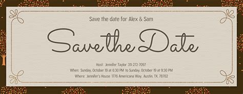 electronic save the date template free electronic save the date templates 28 images save