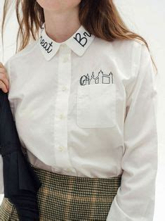 Lettering Detail Shirt embroidery letters on embroidery letters
