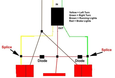 third brake light wiring diagram adding a third brake light to a small cer trailer