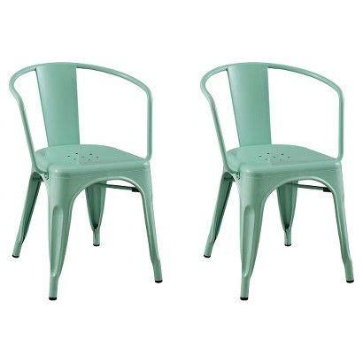 99 dining room chairs metal lylesdchairglvnzdshs15 carlisle metal dining chair set of 2 mint green 99