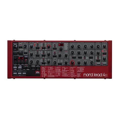Nord Rack 3 by Nord Lead 4 Rack Musician S Friend