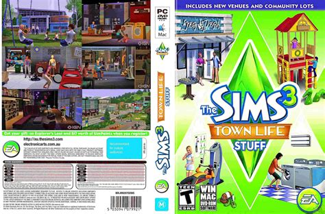 the sims 3 town life stuff pack free game download free the sims 3 town life stuff