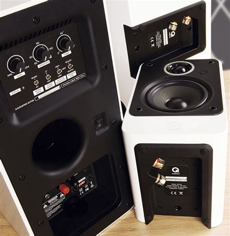 Q Acoustics 2010i Hitam Gloss q acoustics 2000i cinema pack review loudspeakers