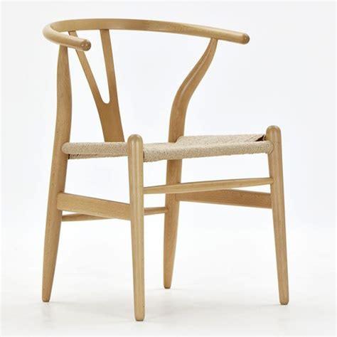 wegner stuhl hans wegner esszimmerstuhl y chair wishbone ch24 design