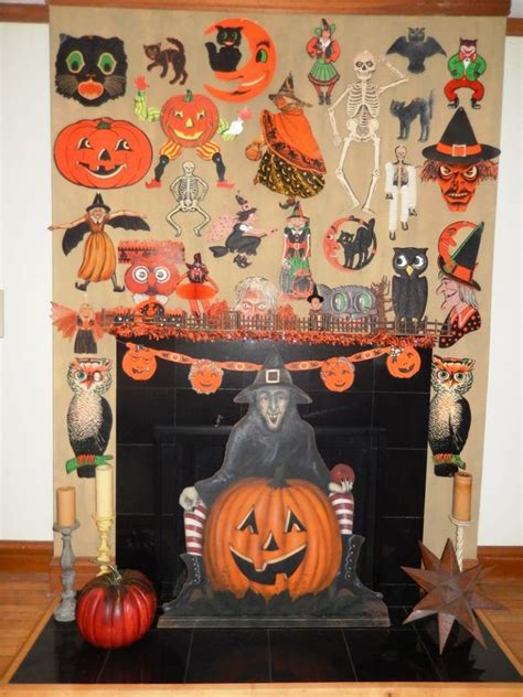 halloween day themes top 15 vintage halloween decorations ideas in 2016 happy