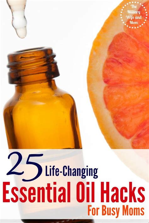 25 life hacks featuring coconut oil 25 life hacks hacks 25 life changing essential oil hacks for busy moms mom