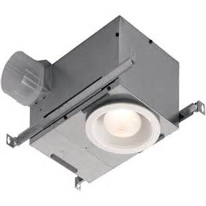 broan s recessed exhaust fan combines the utility of a