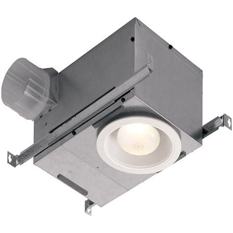 kitchen exhaust fan light combo broan s recessed exhaust fan combines the utility of a