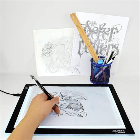 ultra thin light box artist s choice 12 quot x 8 5 quot ultra thin led tattoo tracing
