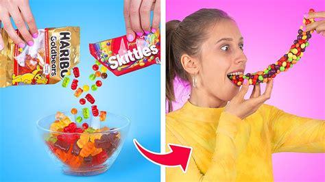mencoba tips makanan viral  tiktok youtube