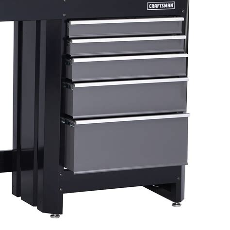 Craftsman 5 Drawer by Craftsman 5 Drawer Workbench Module Black Platinum