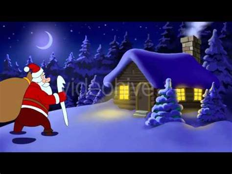 merry christmas animated card stock footage videohive youtube