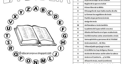 preguntas de jesus en la biblia educar con jes 250 s pasapalabra de la biblia 3 y 4