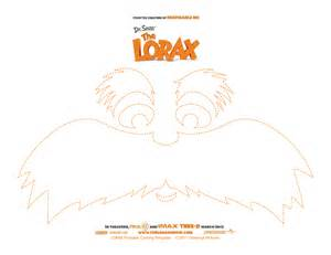 Lorax Template by The Lorax Free Pumpkin Carving Template A Sparkle Of Genius