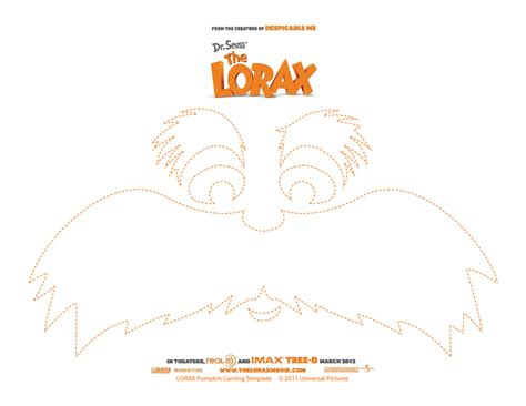 dr seuss templates free pumpkin carving template dr seuss the lorax