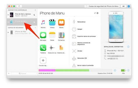 seleccionar varias imagenes mac c 243 mo pasar m 250 sica de iphone a mac pc y viceversa sin itunes