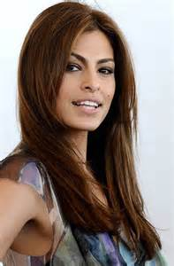 hairstyle to make mt look longer eva mendes hairstyle