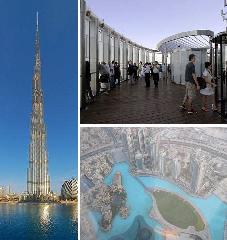 burj khalifa observation deck 13 scary sky high platforms observation decks urbanist