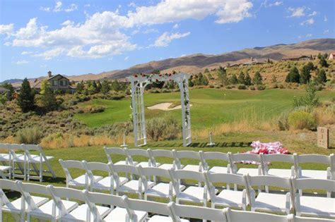 wedding venues reno nv somersett golf and country club wedding venue in