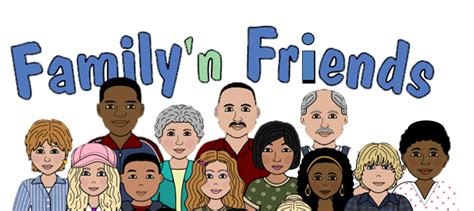 A Friend Of The Family by Friends And Family Clipart 101 Clip