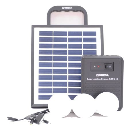 omega solar home lighting system osp l12 bulkdeal