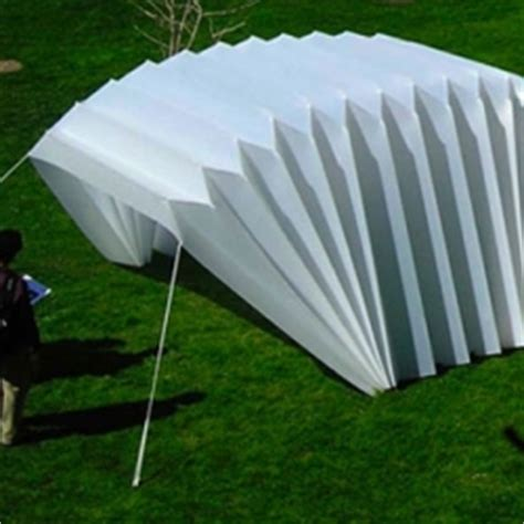 Origami Greenhouse - notcot org