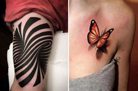 3d tattoo studios uk optical illusion tattoos with amazing 3d designs that will