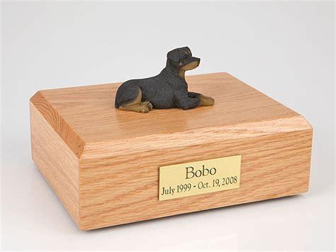 rottweiler urn rottweiler sleeping figurine urn memorial urns