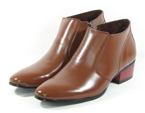 mooda mens ankle boots leather shoes for formals