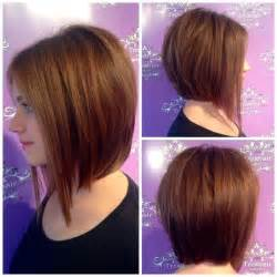 hairstyles for round faces perfect a line bob cut