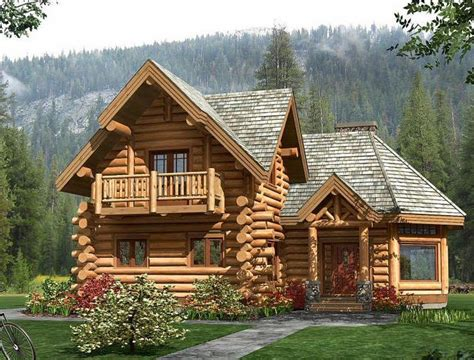 25 best ideas about small log homes on small