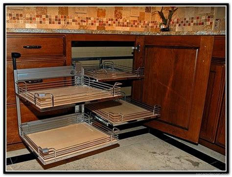 66 inspiring corner kitchen cabinet storage ideas seragidecor