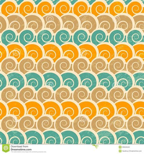 beach pattern photography abstract spiral beach seamless pattern with grunge effect