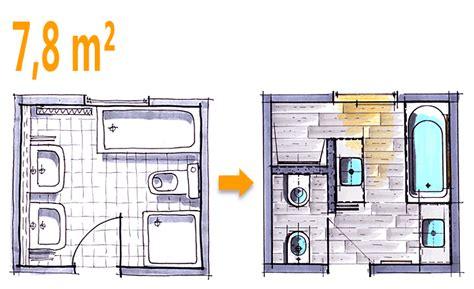 Kleines Bad Plan by Badplanung Beispiel 7 8 Qm Modernes Komplettbad Mit