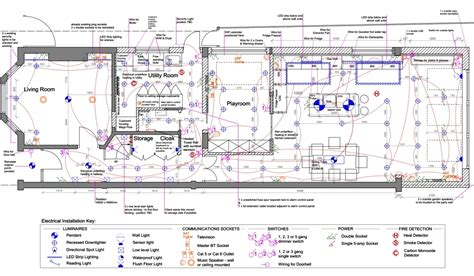 electrical and lighting plans 187 kent griffiths design