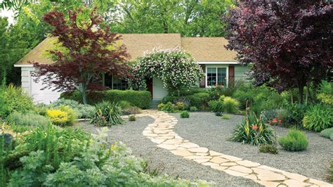 Free Backyard Landscaping Ideas 7 Inspiring Lawn Free Yards Sunset Magazine Sunset Magazine