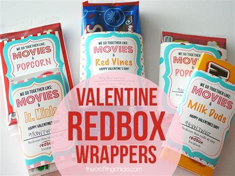 s day redbox redbox wrappers the crafting