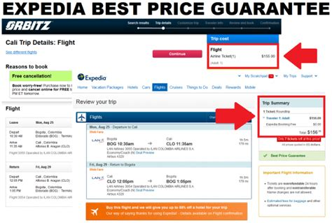 expedia best price guarantee orbitz price for lan flights lower by 1 09 loyaltylobby