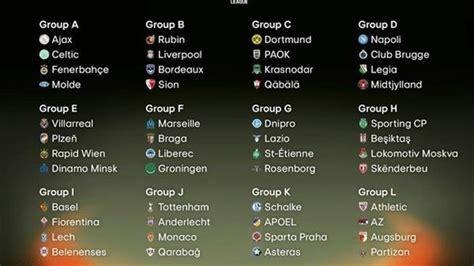 Calendrier Europa League Europa League Calendrier