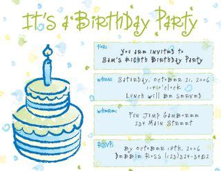 membuat undangan ulang tahun dalam bhs inggris contoh undangan bhs inggris ulang tahun contoh isi undangan