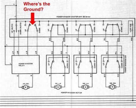 toyota surf power window wiring diagram wiring diagram
