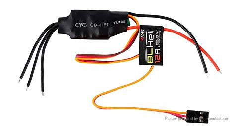 Emax Blheli 12a Brushless Esc 7 20 emax blheli series 12a brushless esc electronic speed controller authentic 2 0 banana