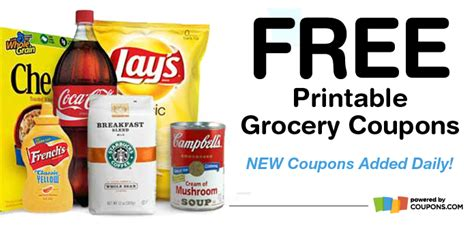 printable grocery coupons free printable grocery coupons the facts coupons