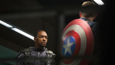 Army Sam Wilsons Captain America Print T Shirt anthony mackie soars as captain america s falcon kuow news and information