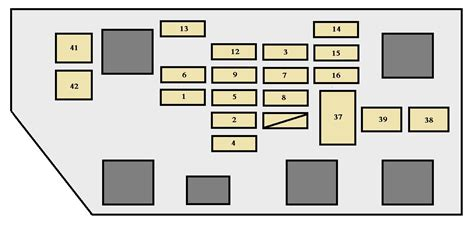 96 toyota camry fuse box diagram wiring diagram