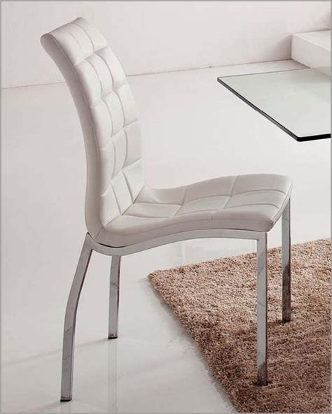 white upholstered dining chair 33 365wt set of 2