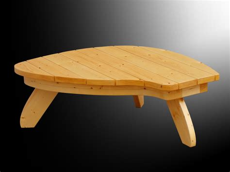 adirondack coffee table